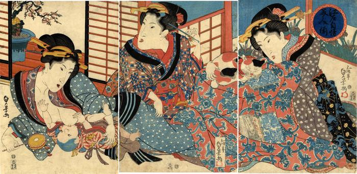 <i>A Collection of Beautiful Women: The Pride of Edo</i> — 江戸自慢美人揃