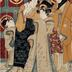<i>Among the Geisha of the New Yoshiwara</i> (新吉原芸者中) - one panel of a probable triptych