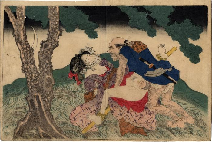 From volume 2, <i>Night rape</i> <i>In Praise of Love in the Four Seasons</i> (<i>Shunka shūtō, Shiki no nagame</i> - 春夏秋冬 - 色の詠)